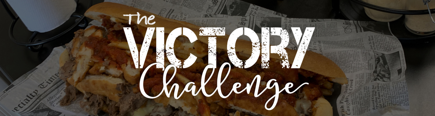 Take the victory fat sandwich challenge